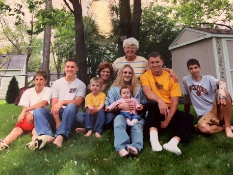 Grandma Carole and her grandkids.