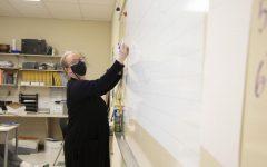 Maria Chargo teaching Algebra two to her third hour students. Photo: R. Ashbury