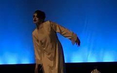 Senior Via Novarro, performing in