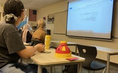 Diversity Club students meet for their second time this school year