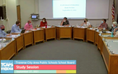 TCAPS Board members discuss district mask mandate at a public board meeting on Monday, Sept. 27.